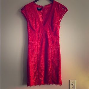 Bebe lace corset dress